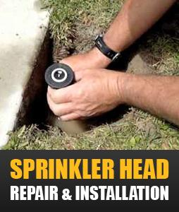 We handle sprinkler head repair & installation in Miramar, Florida